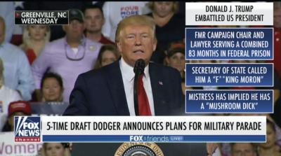 When Fox covers Trump like they cover his critics