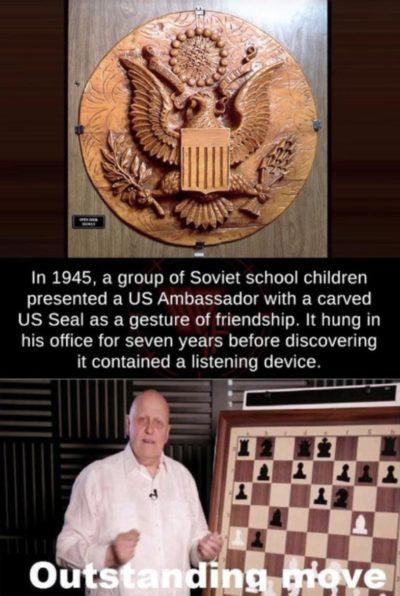 The soviets trusted them