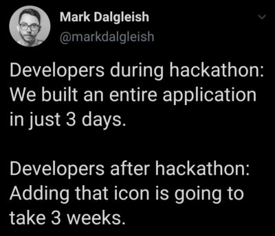 Adding that icon is going to take 3 weeks.