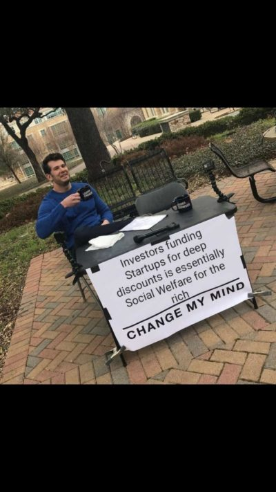 Of course your can't change my mind..