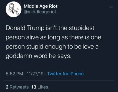 Degrees of Stupidity