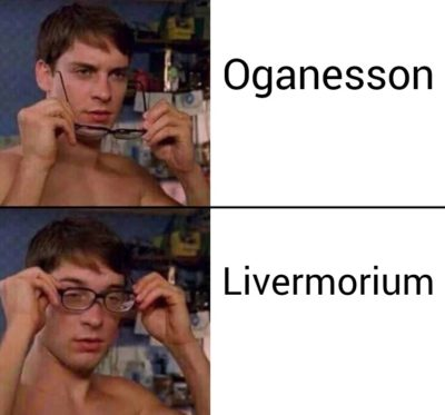 Flerovium: am i a joke to you ( i hope its not done before)
