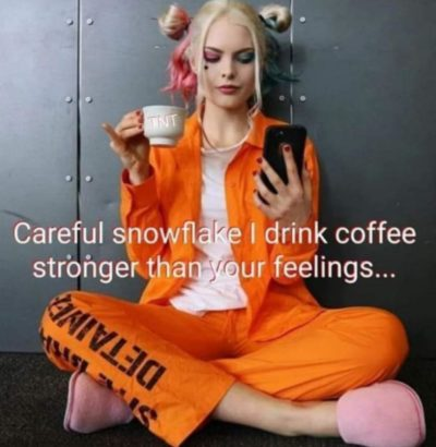 Careful snowflake