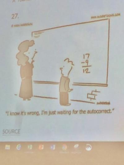 My math teacher showed us this