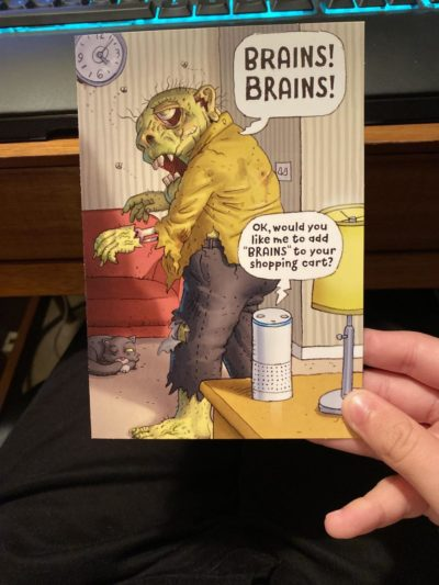 My grandma got this card for me this Halloween