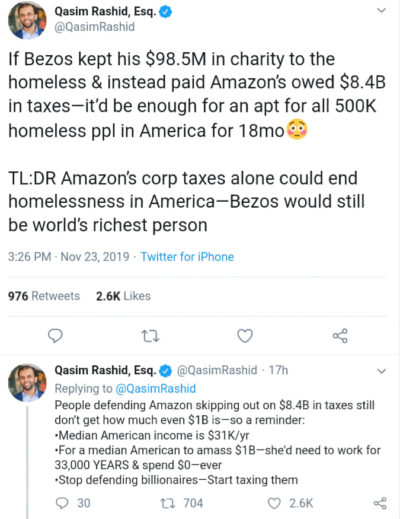 Tax is the best Charity