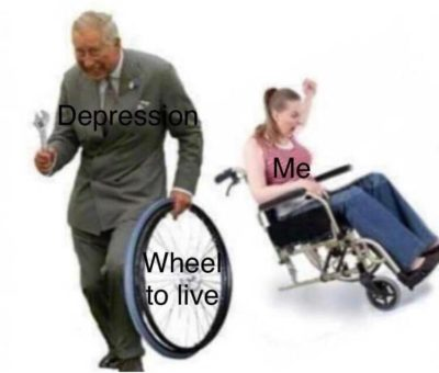 wheelly sad