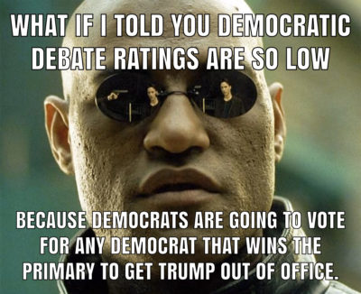 Any democrat is better and I mean that seriously.
