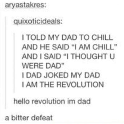 Haha a bitter defeat