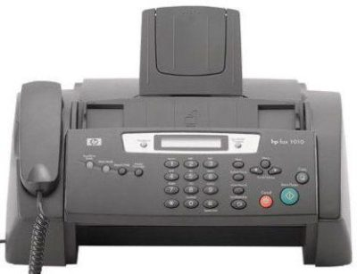 What did the fax say?