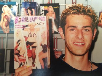 I worked at a porn video store in the 90s.