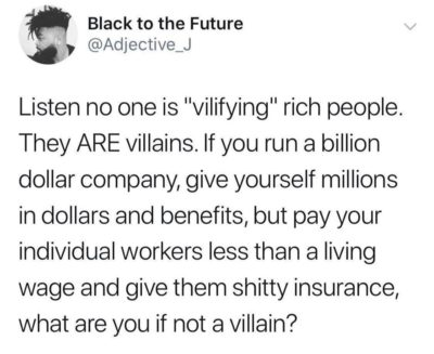 Maybe a supervillain?