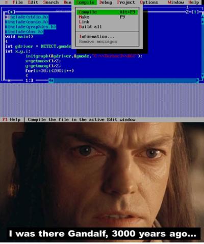 Old school programmer