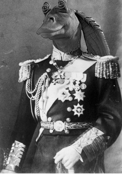 Czar czar binks