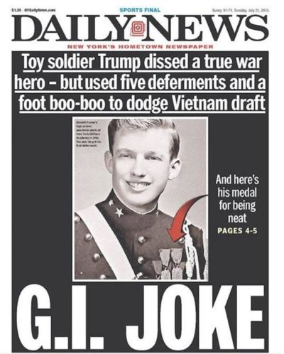 G.I. Joke: The Draft Dodging Extraordinaire