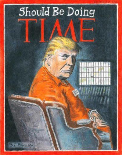 Prison awaits …