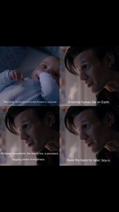 Why does Doctor Who have to be so realistic