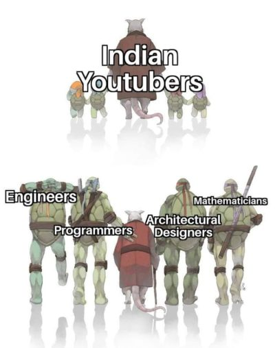 Blessed Indian youtubers