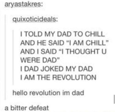 Tumblr dad jokes