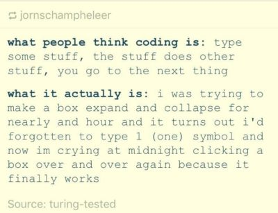 What coding actually is