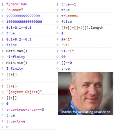 Javascript is Good!