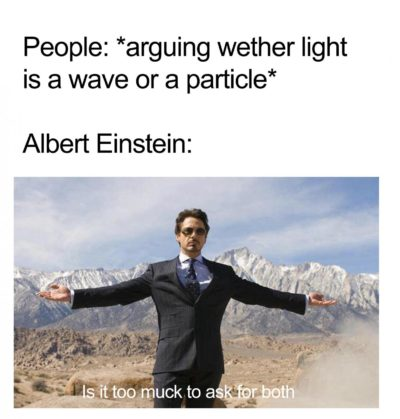 Albert is fire