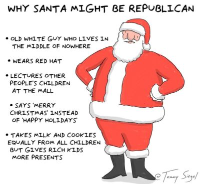 why santa might be a republican [OC]