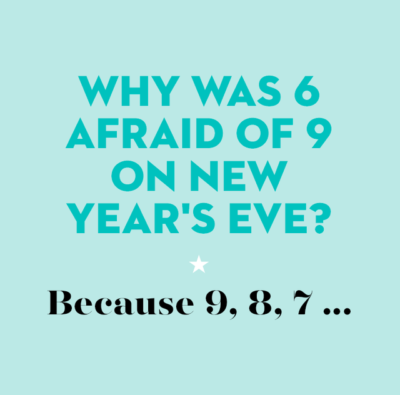 The new year eve countdown has begun