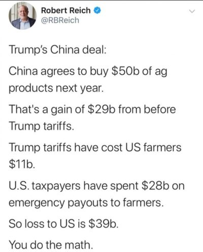 Behold! The art of the deal