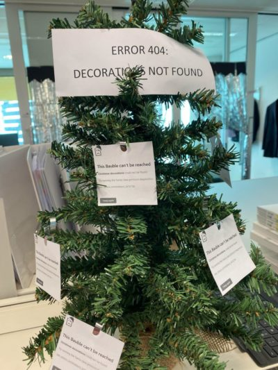404 Decorations Not Found