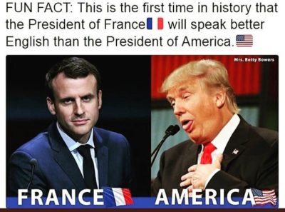 I love fun facts about Drump
