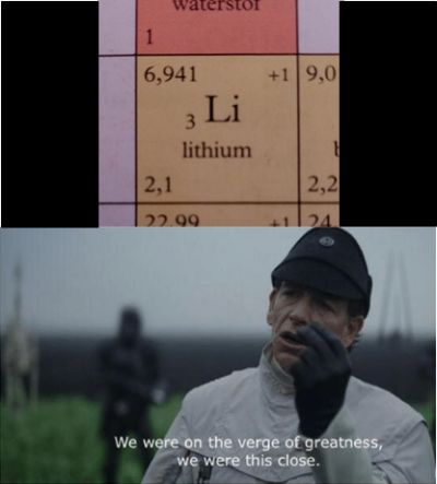Why, periodic table