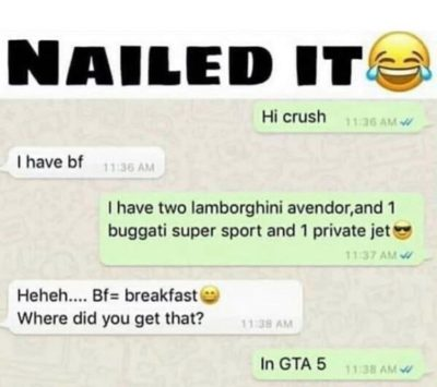 😂😂😂he's rich in GTA5😂😂😂