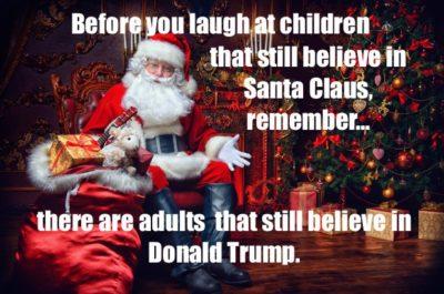 Santa knows.