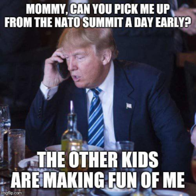 Poor Donny – laughed at by the whole world