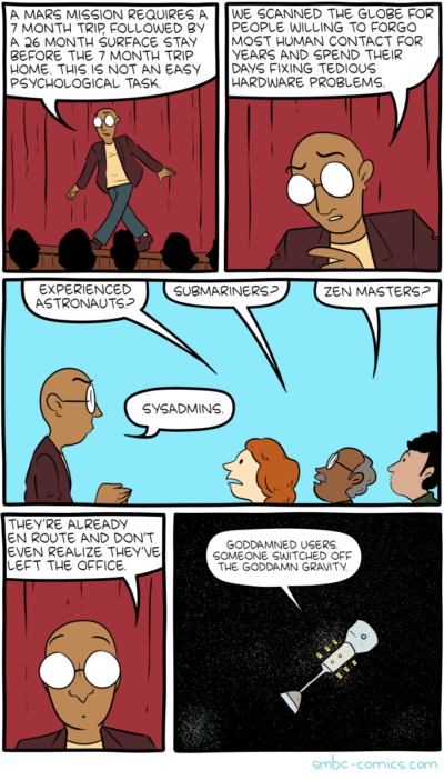 SMBC: Mission to Mars