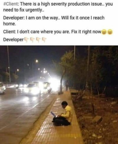 Developers life😂