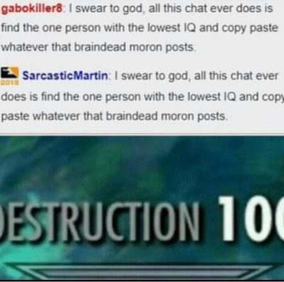 It was cropped this way. Also DESTRUCTION 100