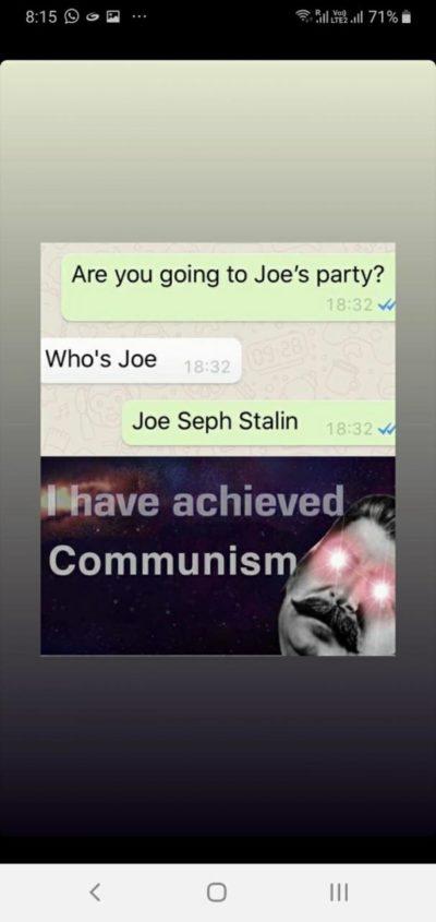 Soviet Anthem intensifies