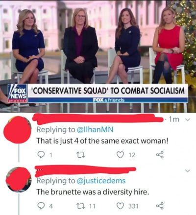 Seeing strong diversity from the Conservative Squad