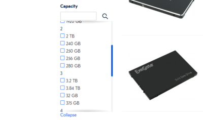 This (huge) online store sorts hard drive capacity by first number