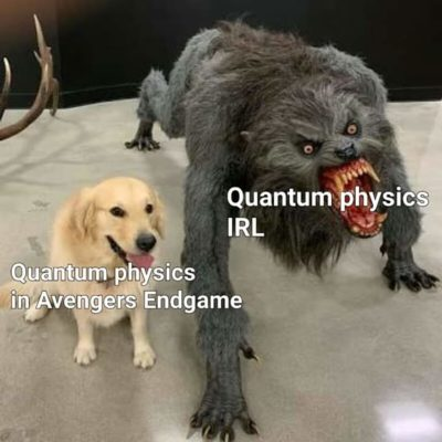 Yes, quantum physics