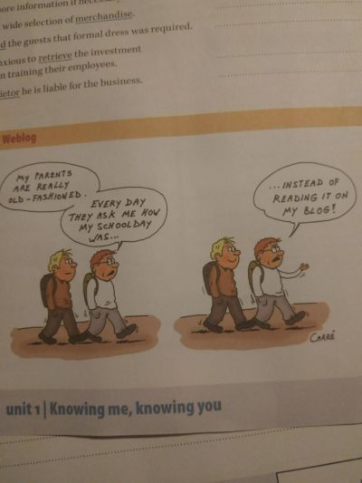 Found this in my english text Book.