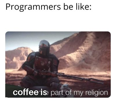 Programmers be like