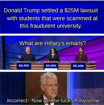 Trumpster Jeopardy