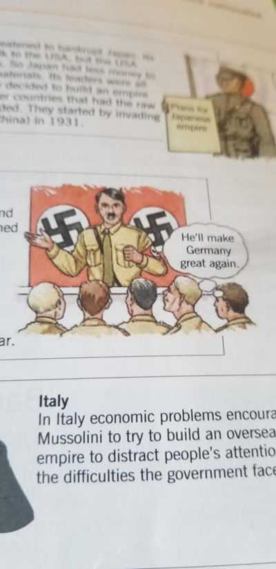 My history textbook gets it