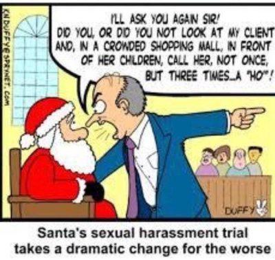 Santa bad