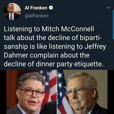 Al Franken gets it….