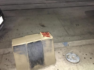 A sad image from outside a bar downtown El Paso, TX