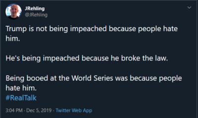 We still do hate him.